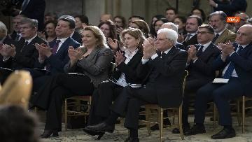 12 - Giorno del Ricordo, Mattarella al concerto celebrativo alla Cappella Paolina del Quirinale
