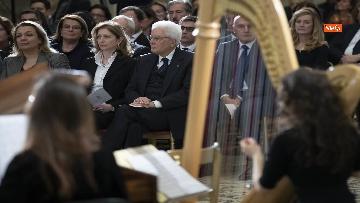 10 - Giorno del Ricordo, Mattarella al concerto celebrativo alla Cappella Paolina del Quirinale