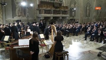 13 - Giorno del Ricordo, Mattarella al concerto celebrativo alla Cappella Paolina del Quirinale