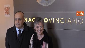 4 - Settimana dei Musei, il ministro Bonisoli visita il Cenacolo Vinciano a Milano