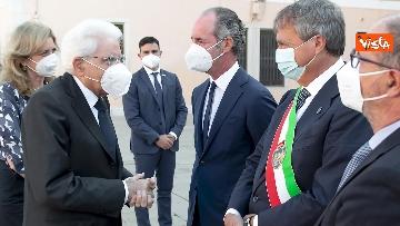 4 - Mattarella visita la Biennale di Architettura a Venezia con Franceschini e Zaia