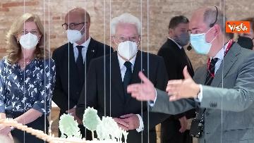 11 - Mattarella visita la Biennale di Architettura a Venezia con Franceschini e Zaia