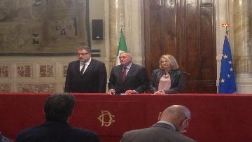 11 - 24-05-18 Consultazioni, la delegazione di Leu con Grasso, De Petris, Fornaro
