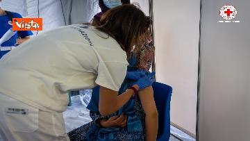 7 - I profughi afghani accolti nel centro della Croce Rossa di Avezzano