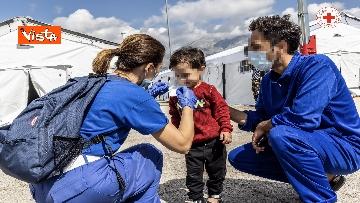 5 - I profughi afghani accolti nel centro della Croce Rossa di Avezzano