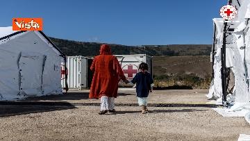 6 - I profughi afghani accolti nel centro della Croce Rossa di Avezzano
