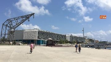 4 - Il porto di Valencia si prepara ad accogliere Aquarius, le immagini