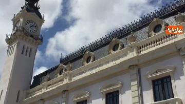 5 - Il porto di Valencia si prepara ad accogliere Aquarius, le immagini