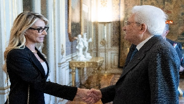 1 - Mattarella incontra una delegazione della Fondazione Guido Carli
