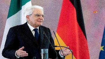 1 - Le dichiarazioni alla Stama di Mattarella e Steinmeier