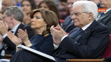 2 - Mattarella alla cerimonia di inaugurazione dell'anno accademico della Sapienza, le immagini