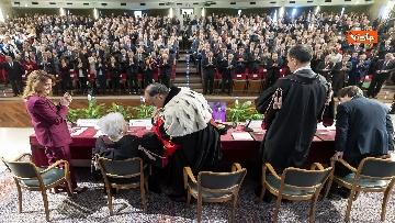 3 - Mattarella alla cerimonia di inaugurazione dell'anno accademico della Sapienza, le immagini