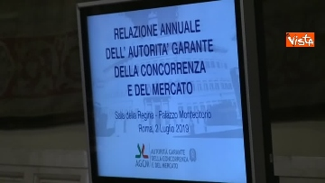 1 - Antitrust, il rapporto annuale a Montecitorio immagini
