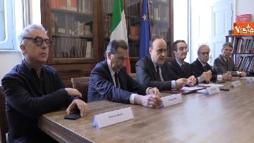 3 - Bonisoli alla firma del protocollo per la valorizzazione del sistema museale del Design milanese
