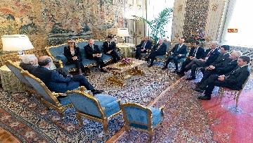 4 - Mattarella incontra una delegazione della Fondazione Guido Carli