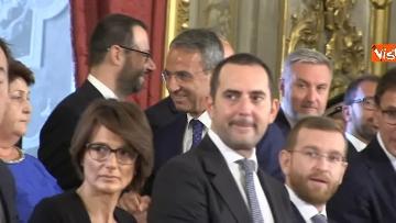 1 - Il giuramento del Ministro dell'Ambiente Sergio Costa