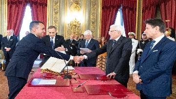 1 - Il giuramento del Ministro degli Esteri Luigi Di Maio
