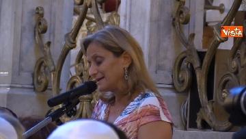 6 - La presidente del Senato Elisabetta Casellati vistita il Tempio Maggiore a Roma