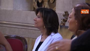 5 - La presidente del Senato Elisabetta Casellati vistita il Tempio Maggiore a Roma