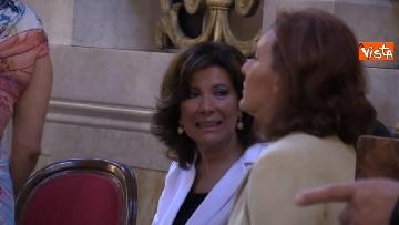 3 - La presidente del Senato Elisabetta Casellati vistita il Tempio Maggiore a Roma