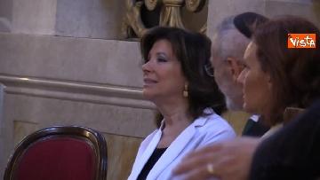 4 - La presidente del Senato Elisabetta Casellati vistita il Tempio Maggiore a Roma