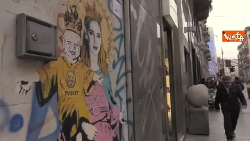 6 - I nuovo murales dello street artist Tvboy a Milano