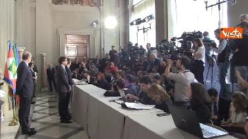 7 - Delegazione M5s dopo consultazioni con Mattarella