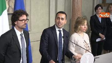 8 - Delegazione M5s dopo consultazioni con Mattarella