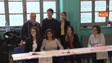 8 - Europee, il voto del presidente del Consiglio Conte