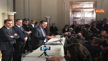 4 - Matteo Salvini dopo le Consultazioni al Quirinale