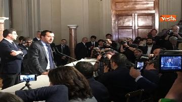 15 - Matteo Salvini dopo le Consultazioni al Quirinale
