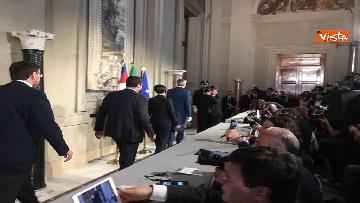 9 - Matteo Salvini dopo le Consultazioni al Quirinale