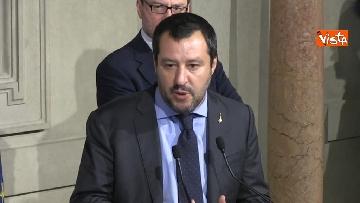 3 - Matteo Salvini dopo le Consultazioni al Quirinale