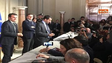 12 - Matteo Salvini dopo le Consultazioni al Quirinale