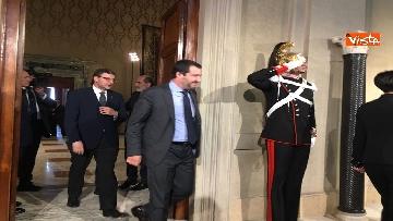 7 - Matteo Salvini dopo le Consultazioni al Quirinale