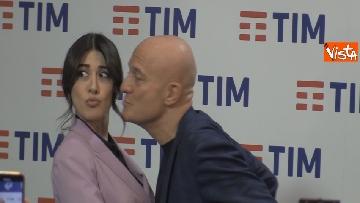 7 - Bisio, Baglioni e Raffaele in conferenza dopo la prima serata di Sanremo