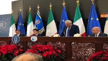 9 - La conferenza stampa di fine anno del premier Conte