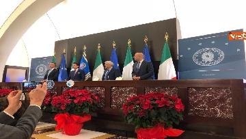 10 - La conferenza stampa di fine anno del premier Conte