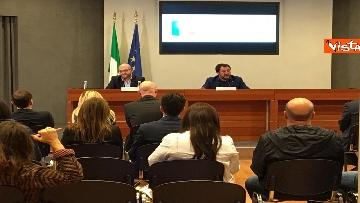 1 - Salvini e Fontana con rappresentanti comunità terapeutiche operanti nel settore tossicodipendenze