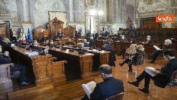 2 - Mattarella al Consiglio di Stato per la presentazione della relazione sull'attività 2020