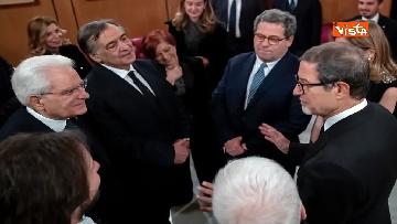 2 - Mattarella al Teatro Massimo partecipa a cerimonia di chiusura