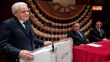 3 - Mattarella al Teatro Massimo partecipa a cerimonia di chiusura
