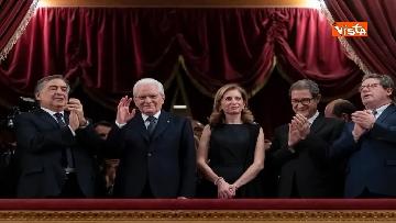 6 - Mattarella al Teatro Massimo partecipa a cerimonia di chiusura