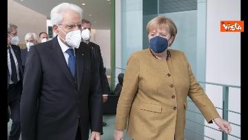 3 - Il Presidente Mattarella a Berlino incontra Angela Merkel