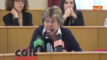 7 - Susanna Camusso in conferenza stampa con Federconsumatori per ricorso, contro Morgan Stanley