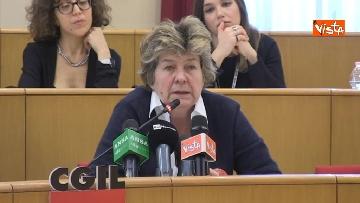 8 - Susanna Camusso in conferenza stampa con Federconsumatori per ricorso, contro Morgan Stanley