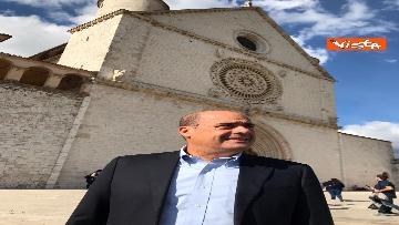 1 - Zingaretti visita la Basilica di San Francesco d'Assisi