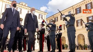 5 - Mattarella interviene alla cerimonia dell'Anno Accademico degli Istituti di Formazione della Difesa