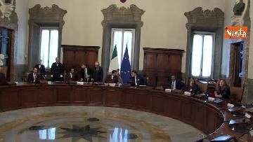 1 - Governo Conte, il primo Consiglio dei Ministri