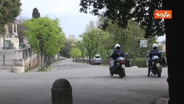 4 - Pasqua in zona rossa, vietato l'accesso alla Terrazza del Pincio a Roma